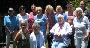Outdoor photo of AAUW Board Members
